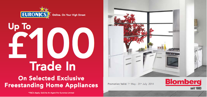 Get up to £100 off on your new kitchen appliance with Bloomberg's new trade in offer