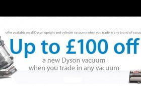 Dyson want you to get cleaning, but with a brand new machine!