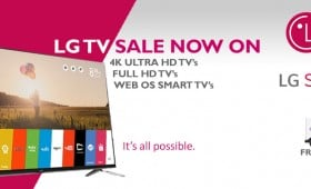 LG TV Sale NOW ON