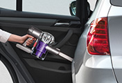 Dyson V6 Car Cleaning