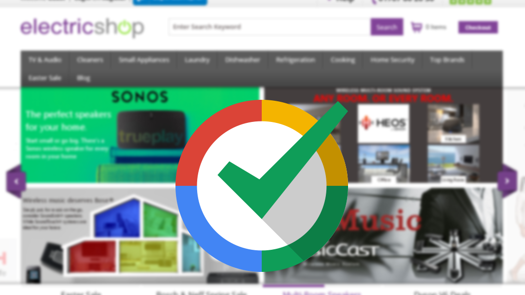 We are now a Google Certified Shop!
