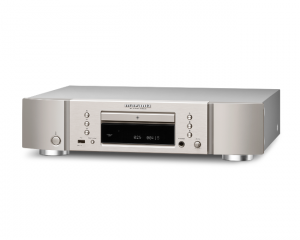 Marantz_CD6006_CD_player_in_Silver_and_Gold