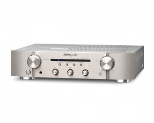 Marantz_PM6006_integrated_amplifier_with_digital_input_in_Silver_and_Gold