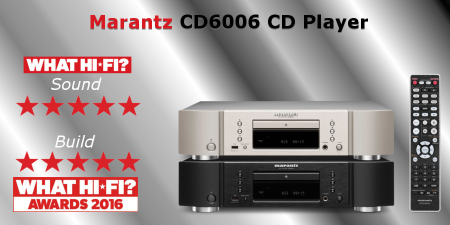 The Marantz CD6006 CD Player