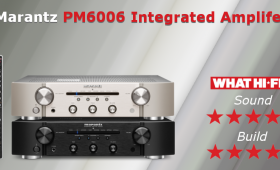 The Marantz PM6006 Integrated Amplifier