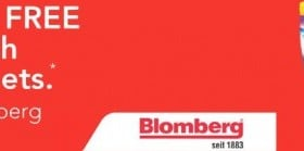 3 Months supply of Free Finish Quantum Tablets with Selected Blomberg Dishwashers