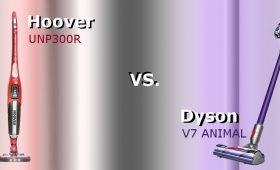 Hoover UNP300R Unplugged vs. Dyson V7 Animal