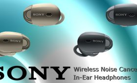 Sony WF1000X Wireless Noise Cancelling In-Ear Headphones