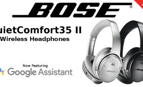 Bose QuietComfort35 II Noise Cancelling Wireless Headphones with Google Assistant