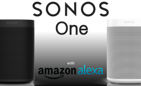 Sonos One Speakers with Amazon Alexa