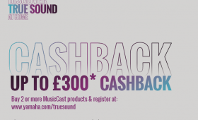Up to £300 Yamaha Cashback Promotion