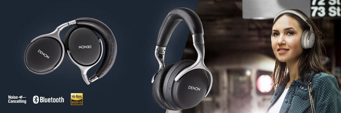 New Arrival – Denon AHGC30 Premium Wireless Noise Cancellation Headphones