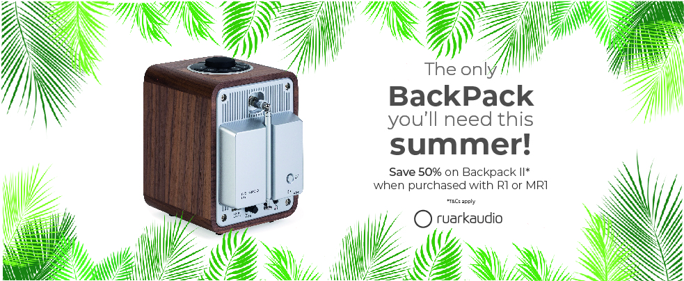 The Only BackPack you'll need this Summer! – Ruark Audio
