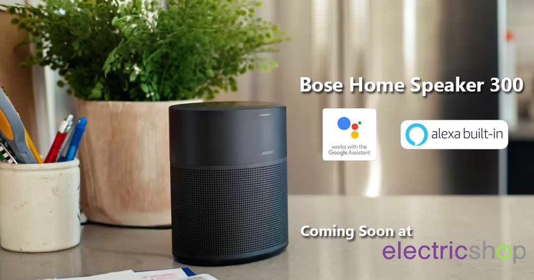 Bose Home Speaker 300 Smart Speaker with Voice Assistant – Coming Soon