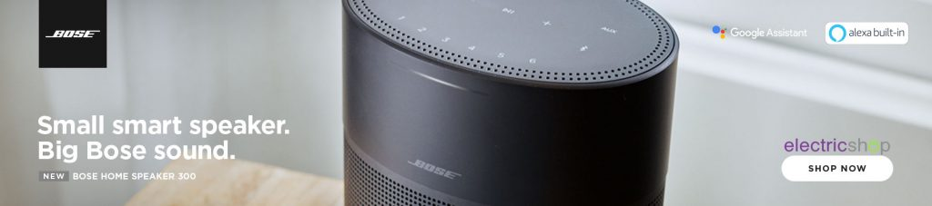 Bose Home Speaker 300 with Google Assistant and Alexa Built in electricshop