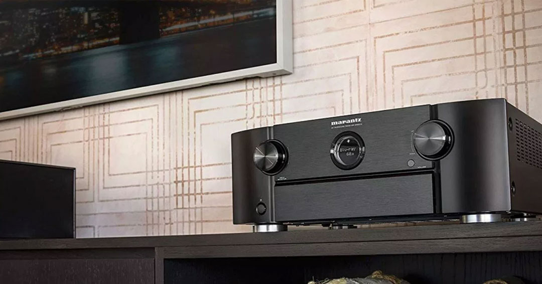 Marantz SR6014 AV Receiver: IMAX Enhanced, eARC and Network Streaming