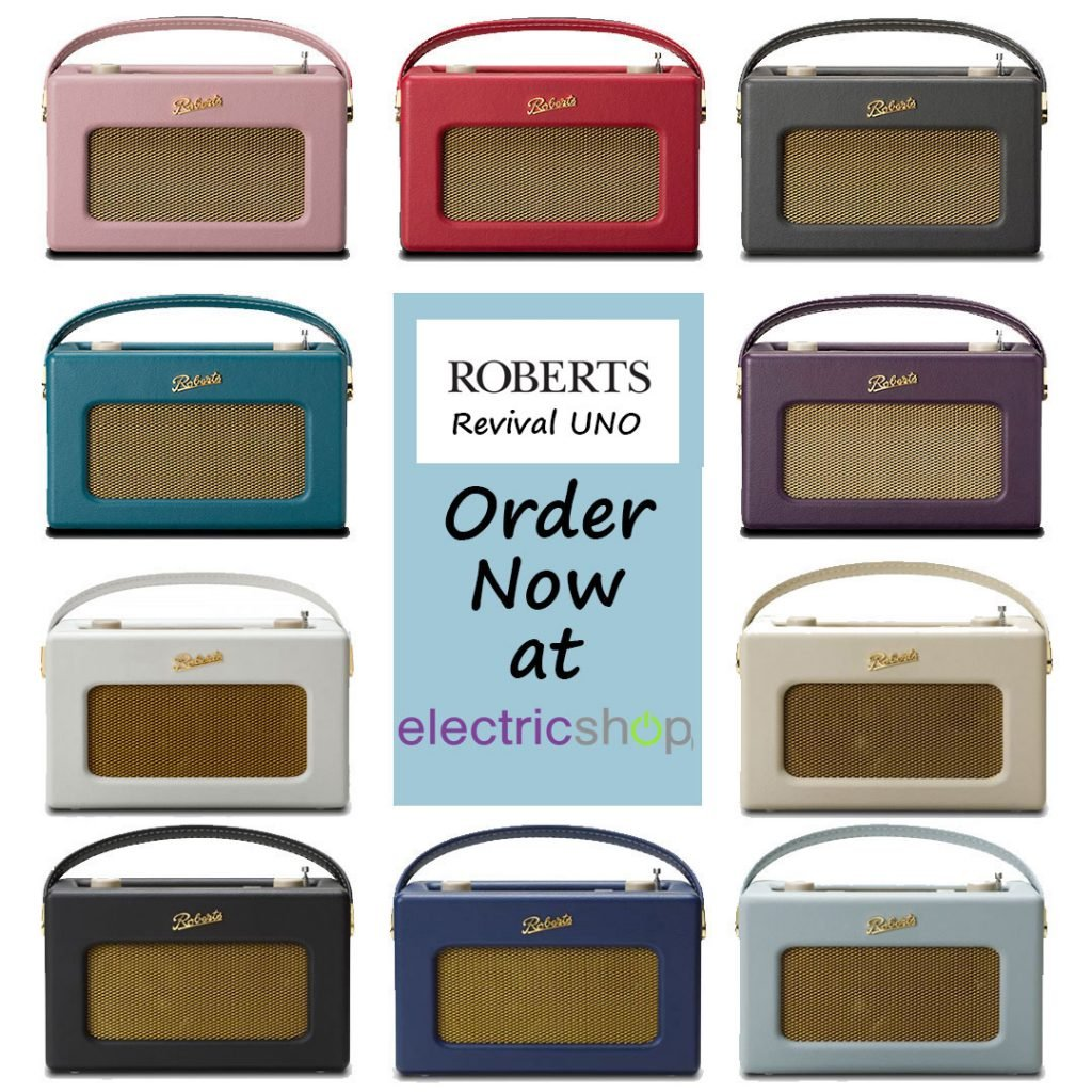 Roberts Revival UNO in a Variety of New Colours