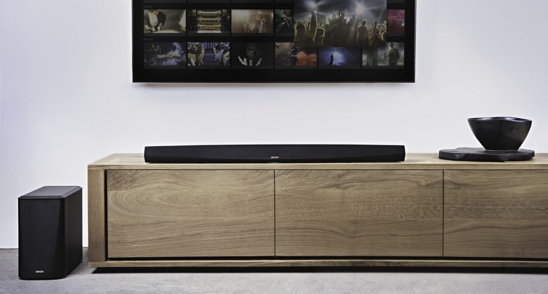 Denon DHT-S516H and Denon DHT-S716H deliver powerful surround sound with Hi-Res Playback and Popular Voice Control