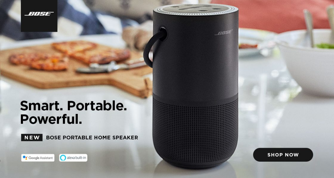New Bose Portable Home Speaker offers Alexa, Google Assistant & Airplay 2