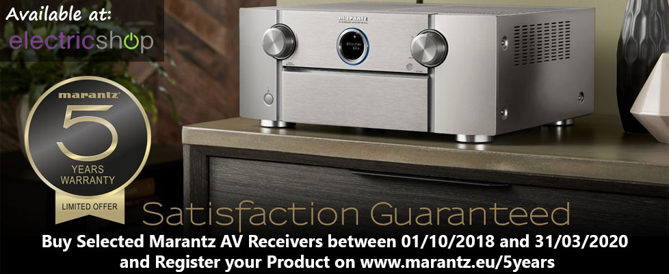 Marantz SR7013 Limited Offer 5 Year Warranty