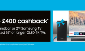 Samsung up to £400 Cashback Promotion