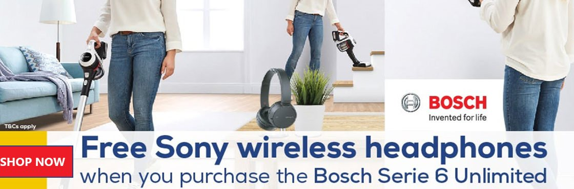 Claim Free Sony Wireless Headphones