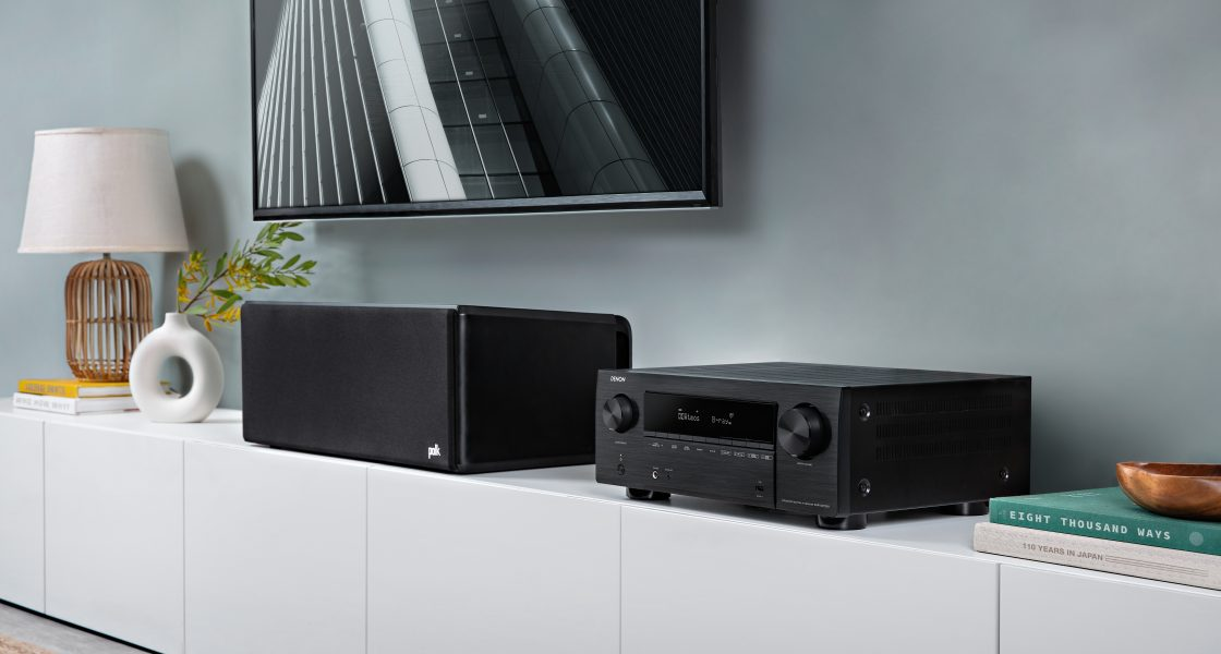 Denon's First 8K Ready AV Receivers are packed full of features