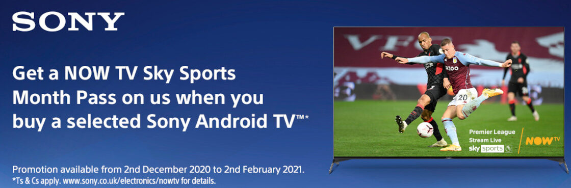 Get a Now TV Sky Sports Month TV