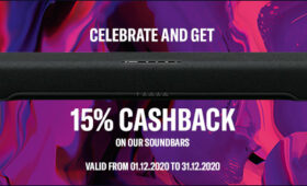 Claim 15% Cashback on Yamaha Soundbars