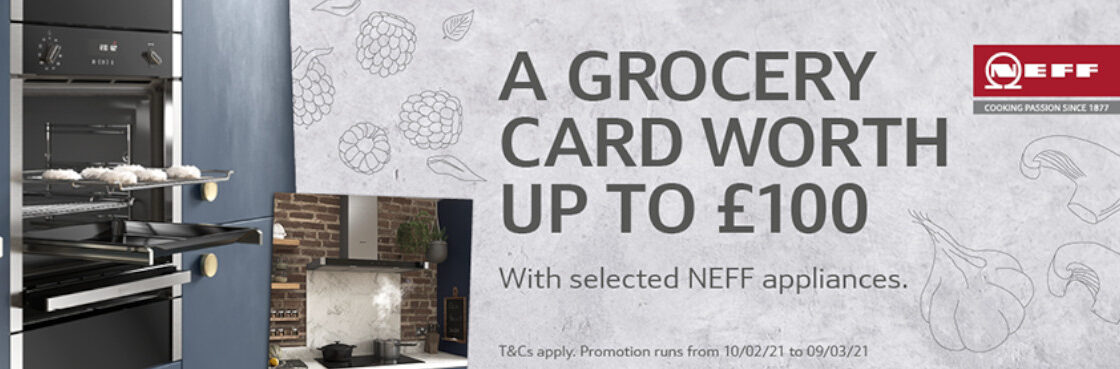Neff A Grocery Card Worth up to £100