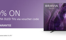 Save 10% on award-winning BRAVIA OLED TVs