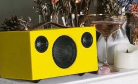 Limited Edition Lemon Audio Pro Addon T3+ Portable Multiroom Speaker