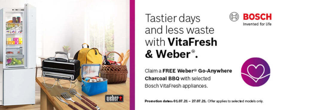 Tastier Days and Less Waste with VitaFresh and Weber®